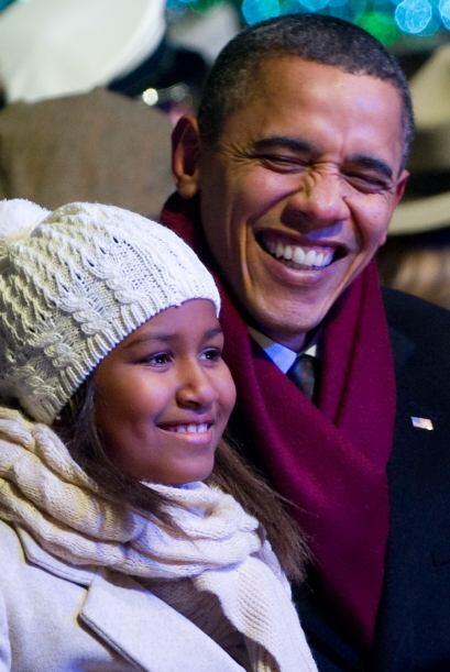Obama señaló que las personas reunidas aquí celebran una historia perdur...