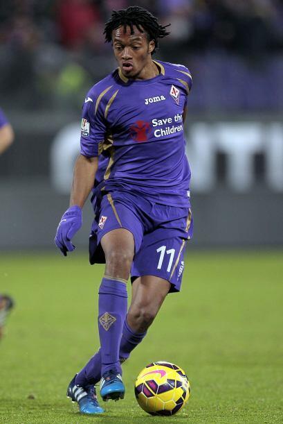 El volante colombiano Juan Cuadrado es quizás el futbolista que m...