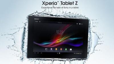 Sony dice que la nueva Xperia Tablet es la tableta más delgada del mundo.