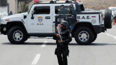 Con estas capturas, la policía venezolana colabora con la Interpol.