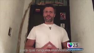 Aún en espera de sentencia Leopoldo López