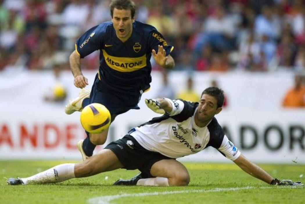 Para los cuartos de final Atlas consiguió el empate con Boca Juniors a d...