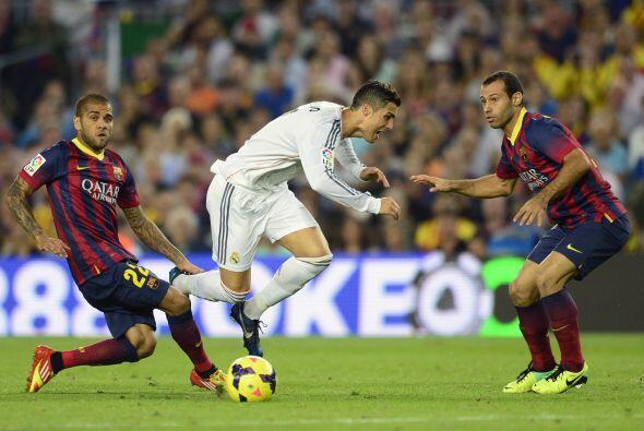 La segunda parte mejoró mucho, garcias a la mejoría del Madrid.