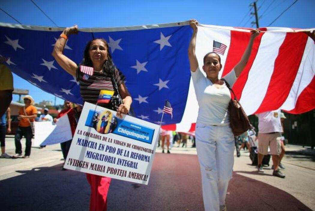 """La marcha es """"un evento histórico, como lo han llamado los organizadores..."""