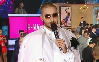 Maluma llegó vestido para ganar y volvió locas a sus fanáticas
