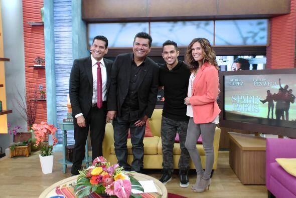 En su debut en Despierta, Ismael entrevistó junto a Karla a estos dos gr...