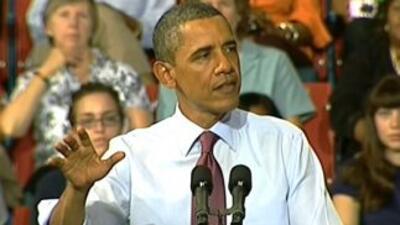 Obama defendió su plan de trabajo