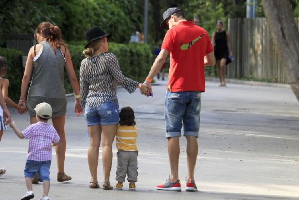 Una hermosa imagen de la familia.