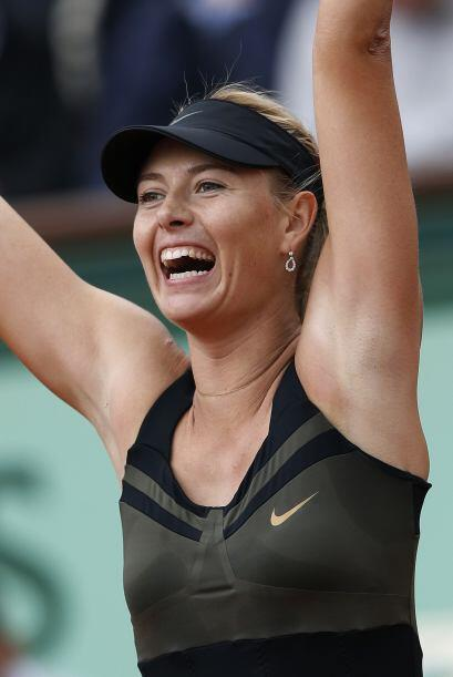 La rusa María Sharapova alcanzó por tercera vez las semifi...