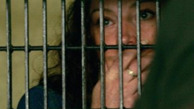La ciudadana francesa Florence Cassez, detenida en México y sentenciada...