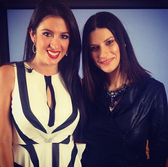 Para Maity Interiano fue todo un placer conversar con la talentosa Laura...