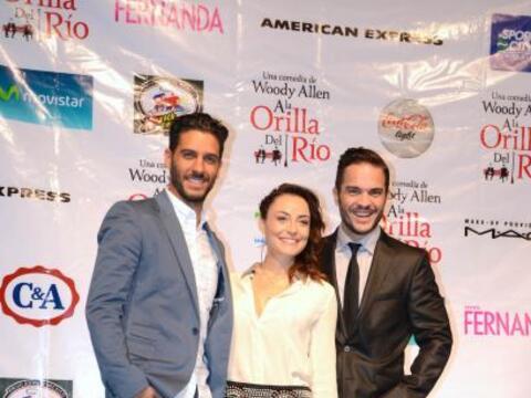 Los actores unirán su talento junto a Marimar Vega para protagoni...