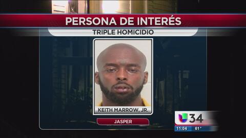 Detienen a una persona de interés luego de un triple homicidio