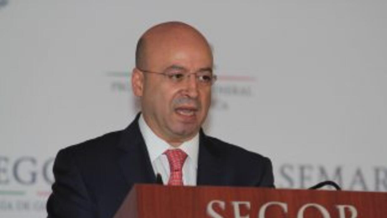 El coordinador nacional Antisecuestro, Renato Sales.