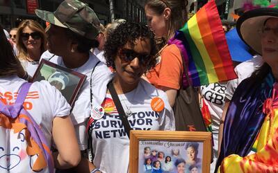 Diana Rodríguez se convirtió en activista tras la muerte d...