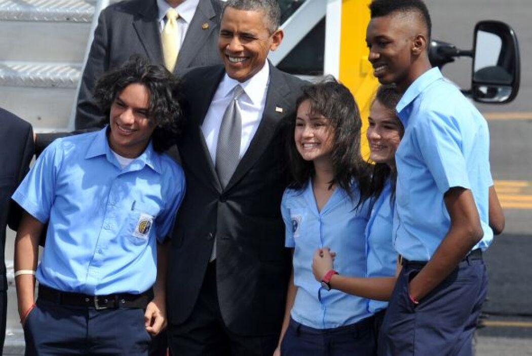 5. El pasado mes de mayo, el presidente Barack Obama realizó una visita...