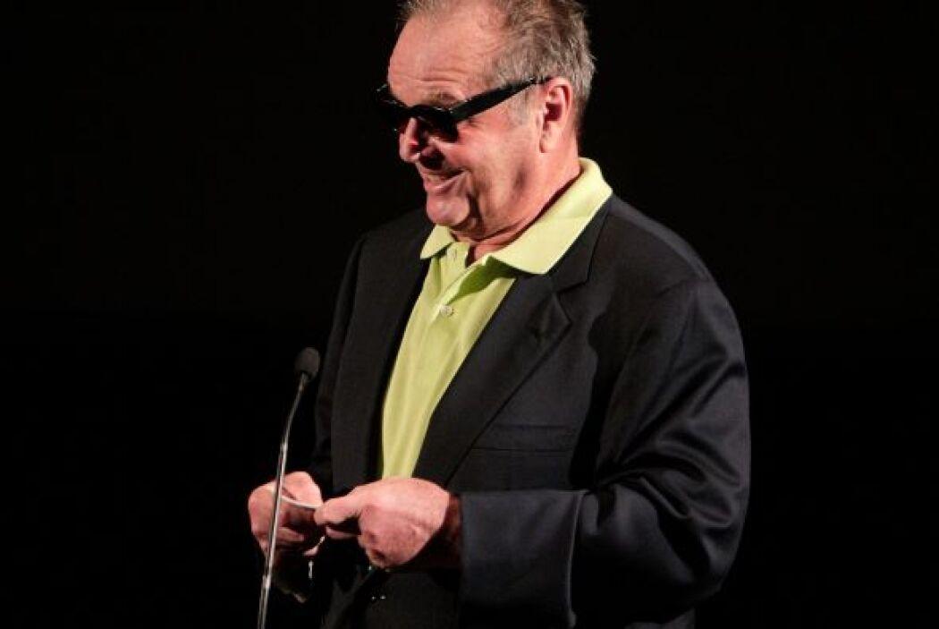 El actor Jack Nicholson protagonizó a McMurphy, un reo que cumplía una c...
