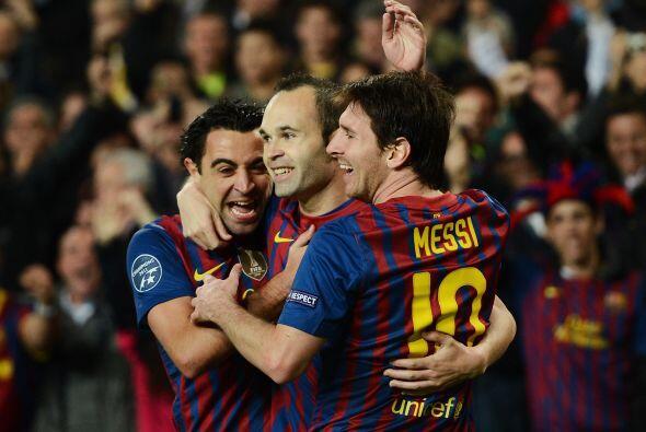 Con el 3-1, el Barcelona ya se sentía más tranquilo para encarar el rest...