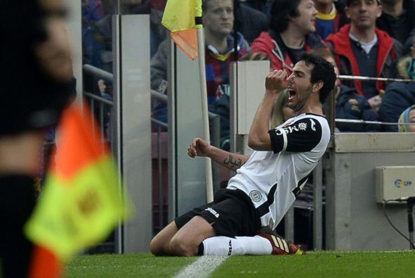Sobre el final del primer tiempo Parejo empató el partido y abri&...
