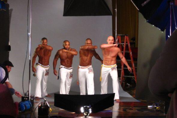 Este grupo de Capoeira obtuvo un si de la actriz y cantante.