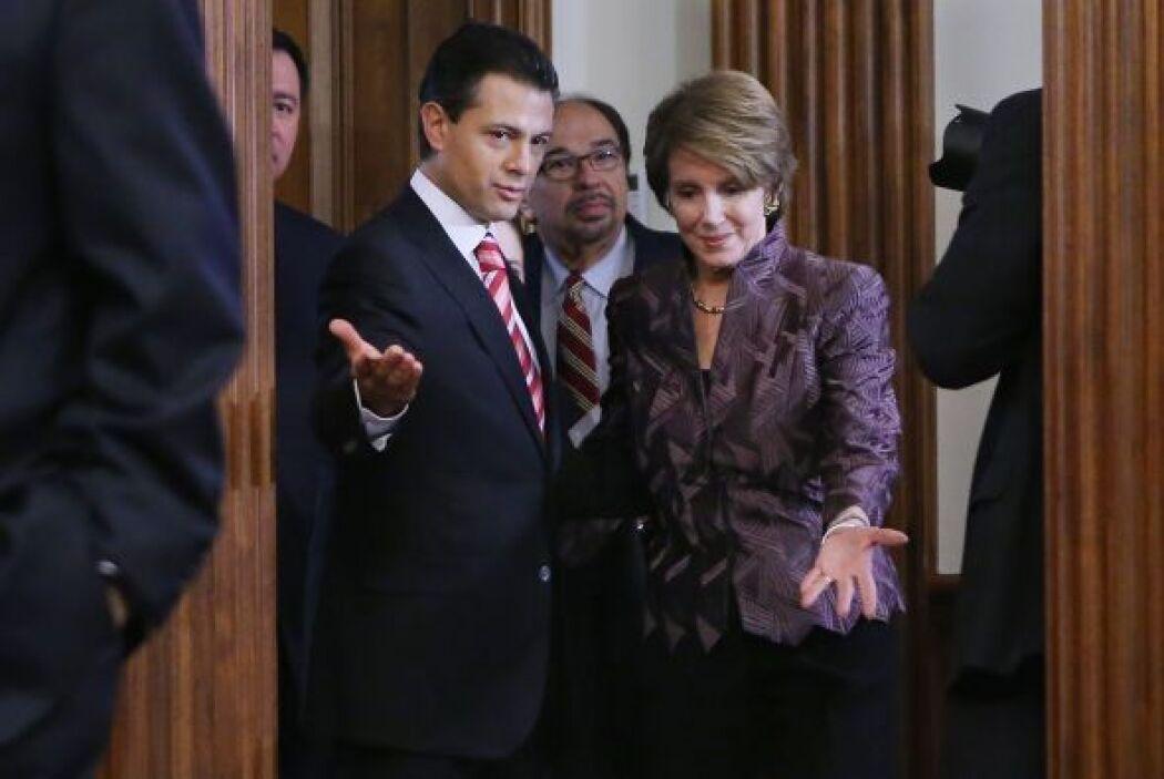 Enrique Peña Nieto también se reunió en privado con Nancy Pelosi, líder...
