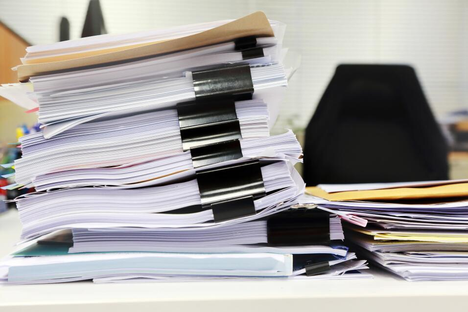 escritorio limpio y organizado