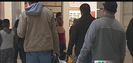 El frío no detuvo las compras de 'Black Friday'