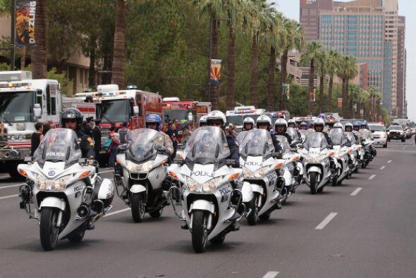 El domingo se llevó acabo una procesión de casi cinco horas de duración...