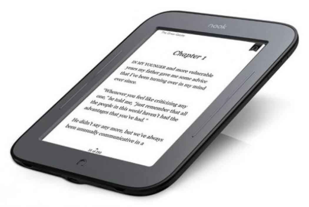 NOOK Simple Touch: ideal por la nitidez de su pantalla que te permite le...