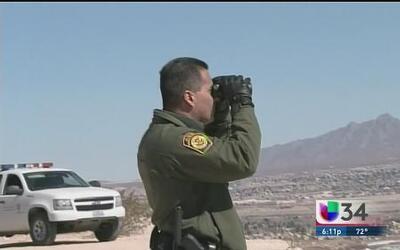 Patrulla fronterizas con cámaras corporales