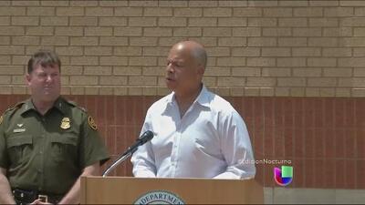 Jeh Johnson habló sobre acelerar las deportaciones