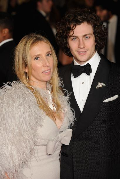 Ella es Sam Taylor-Wood, una artista y directora británica de 46...