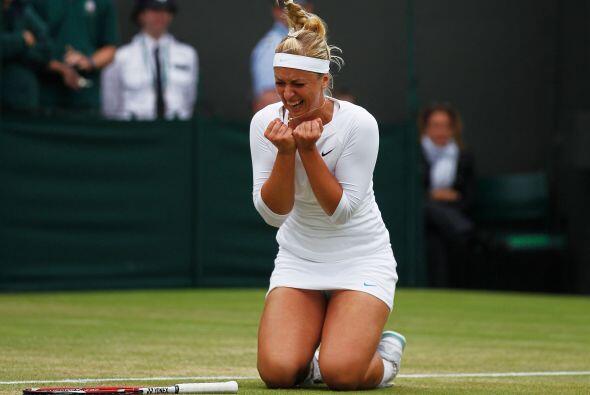 La alemana, de 22 años y semifinalista en Londres el pasado curso...