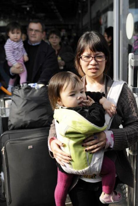 Ciudadanos norcoreanos ambién están saliendo el archipiélago.