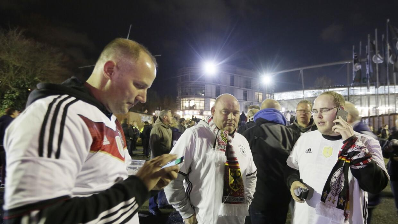 Fanáticos alemanes