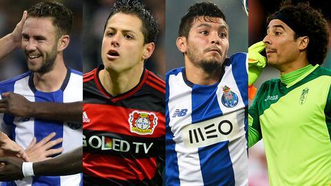 15 a la caza del fútbol europeo en 2016