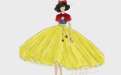 Michael Anthony presentó unos bellos vestidos inspirados en las princesa...