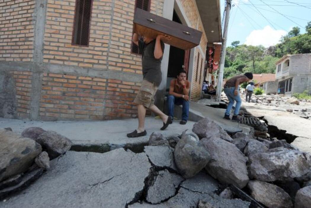 Vecinos indicaron que hay al menos 20 residencias en la Cerro Grande que...