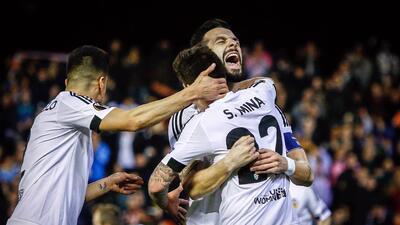 Valencia goleó en Europa League