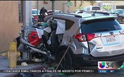 Aparatoso accidente dejó 8 heridos