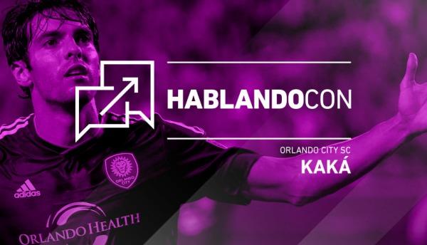 Hablando con Kaká
