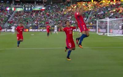 Goooolll!! Alexis Alejandro Sánchez Sánchez mete el balón y marca para C...