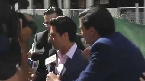 Luis Alberto Aguilera llega a la corte para conocer cómo se dividirá la...
