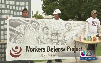Empleados industriales marchan por sus derechos