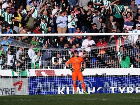 El Real Madrid empezó perdiendo apenas a los dos minutos de juego...