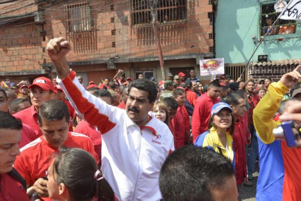 El vicepresidente de Venezuela, Nicolás Maduro, afirmó hoy que los venez...