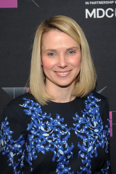 20. MARISSA MAYER Presidenta y directora del sitio Yahoo!
