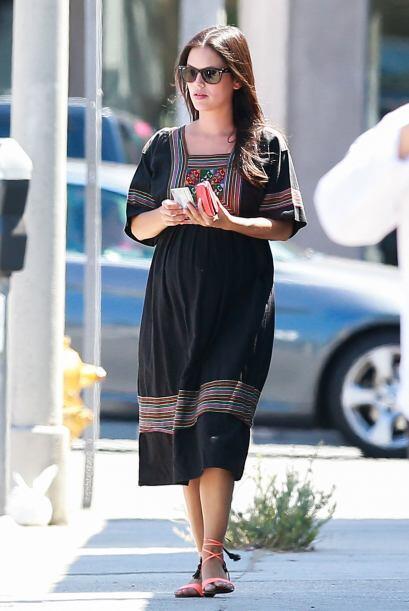 La actriz está cuidando mucho lo que hace y come, para que todo resulte...