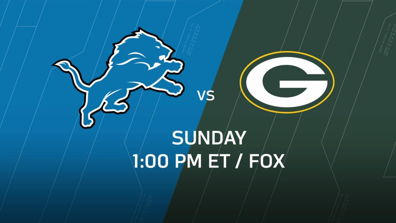 Las claves del Detroit Lions vs. Green Bay Packers