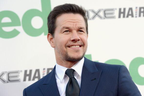 9. MARK WAHLBERG- Wahlberg se ha convertido poco a poco en uno de los ac...